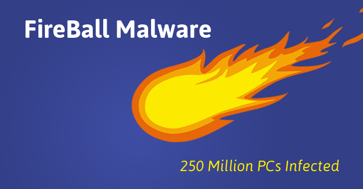 Έρχεται και το Κινέζικο Malware!  Fireball Malware