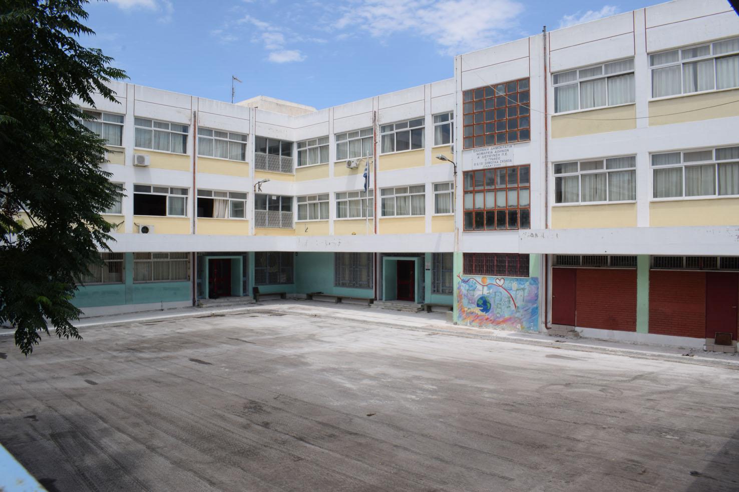 Ξεκίνησαν οι εργασίες στις αυλές σχολείων του Δήμου Γαλατσίου