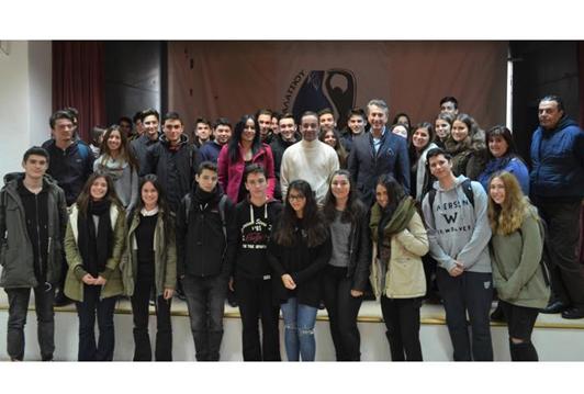 Συνάντηση μαθητών του 4ου ΓΕΛ με τον Δήμαρχο Γαλατσίου στο πλαίσιο του ευρωπαϊκού προγράμματος «e-twinning»
