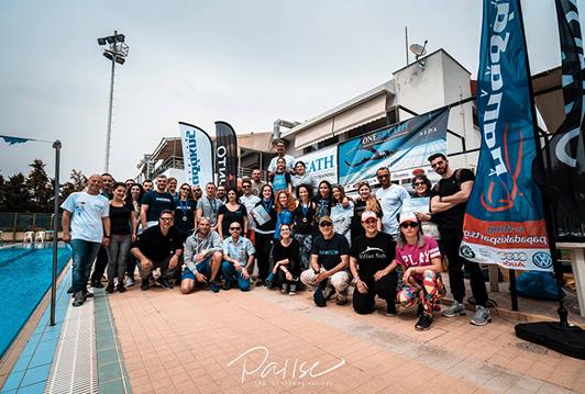 Αγώνας ελεύθερης κατάδυσης και 3 Εθνικά Ρεκόρ στο Δημοτικό κολυμβητήριο Γαλατσίου