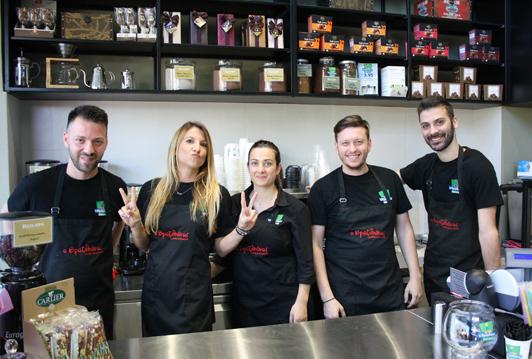 Νέο καφεκοπτείο Βραζιλιάνος λεωφόρο Βεΐκου 7