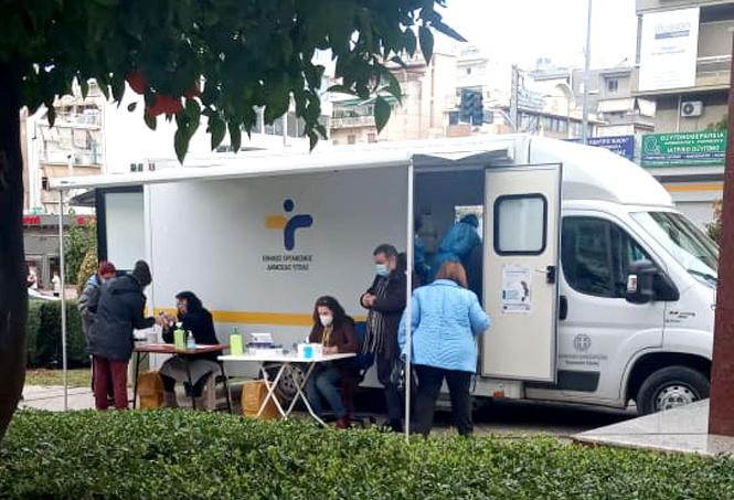 Μηδενικά θετικά κρούσματα στα χθεσινά rapid test στο Γαλάτσι