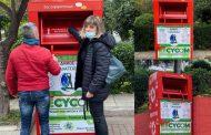 Ολοκληρώθηκε η τοποθέτηση των τελευταίων δέκα κόκκινων κάδων ανακύκλωσης στο Δήμο Γαλατσίου